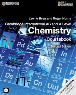 Cambridge International AS and A Level Chemistry Coursebook 2nd Edition