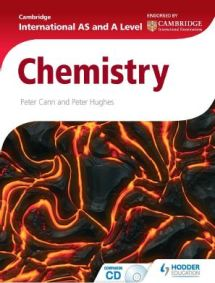 Image result for Cambridge International AS and A Level Chemistry by Peter Cann and Peter Hughes