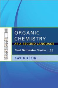organic chemistry as a second language - first semester topics