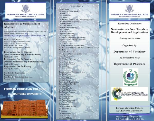 Conference on Nanomaterials: New Trends in Development and Applications