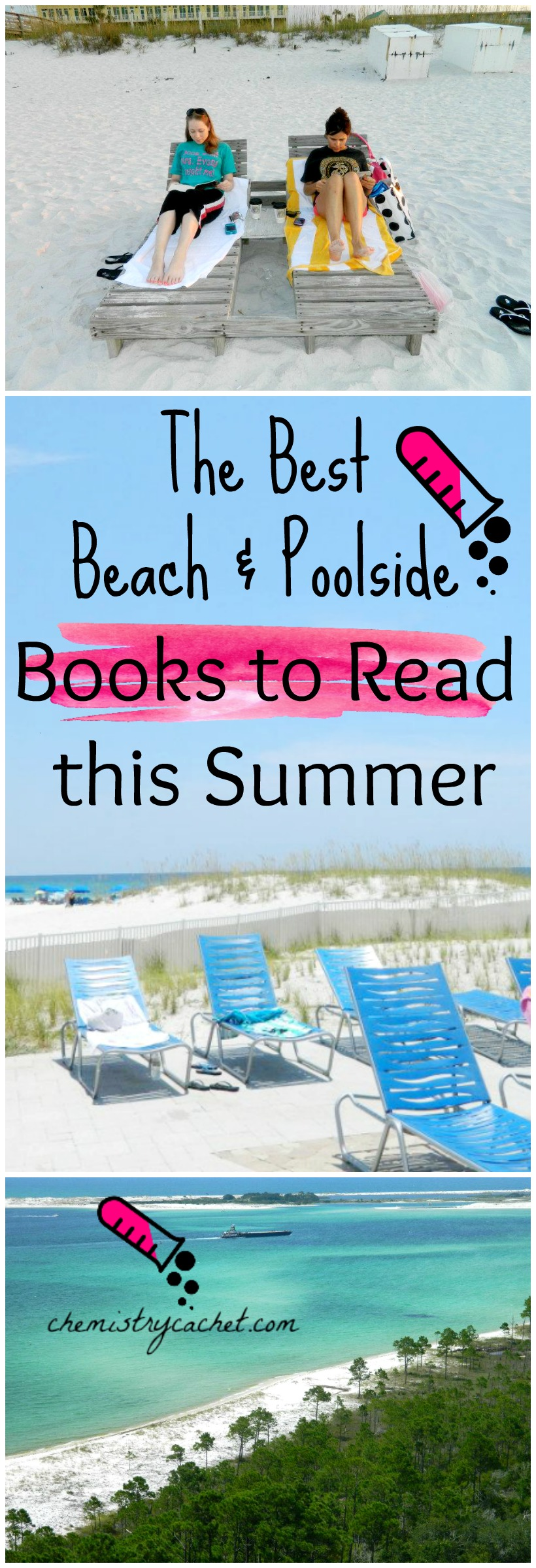 The Best Beach & Poolside Books to Read this Summer on chemistrycachet.com