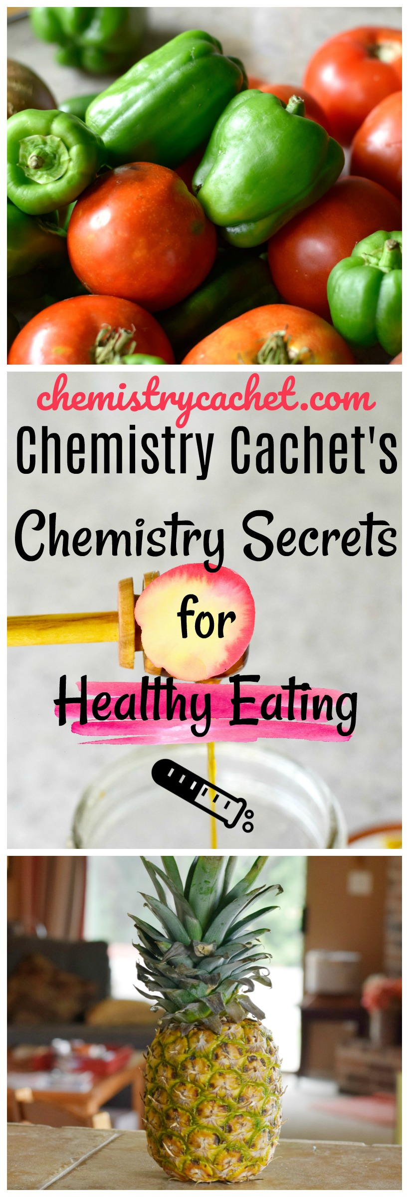 Chemistry Cachet's chemistry secrets for healthy eating on chemistrycachet.com