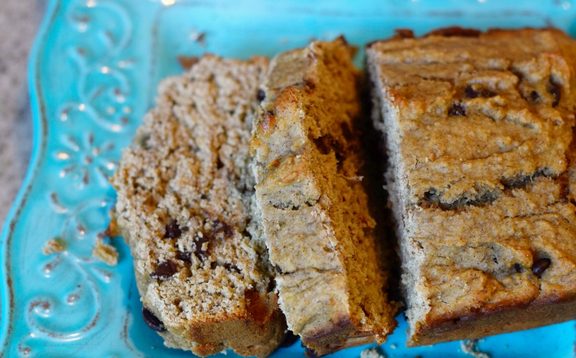 Dairy-Free Gluten-Free Chocolate Chip Banana Bread