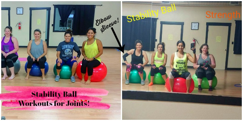 stability ball workout for arthritic joint pain
