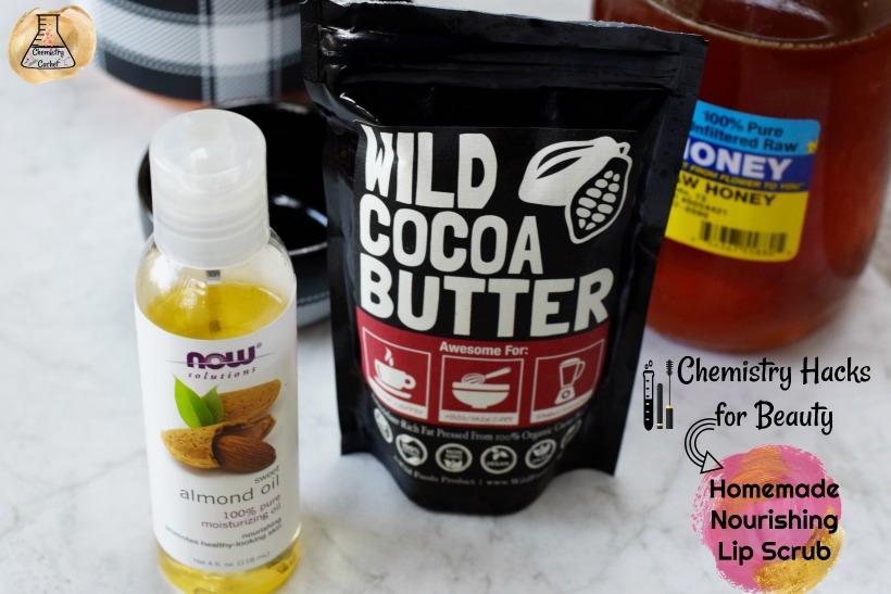 Chemistry Hacks for Beauty Nourishing Homemade Lip Scrub