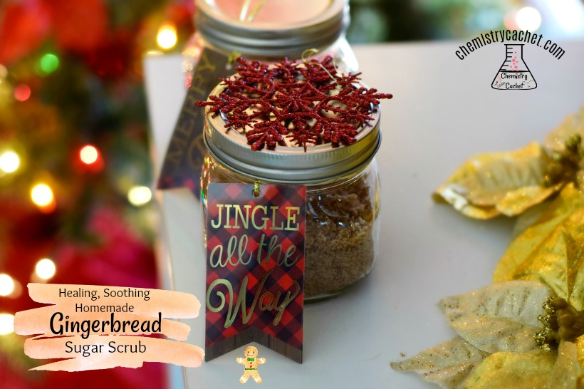 Healing, Soothing Homemade Gingerbread Sugar Scrub