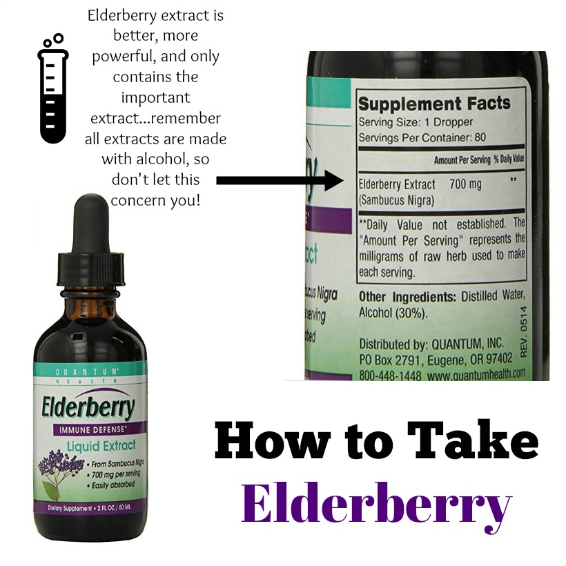 How to take elderberry properly...the truth about elderberry for your health