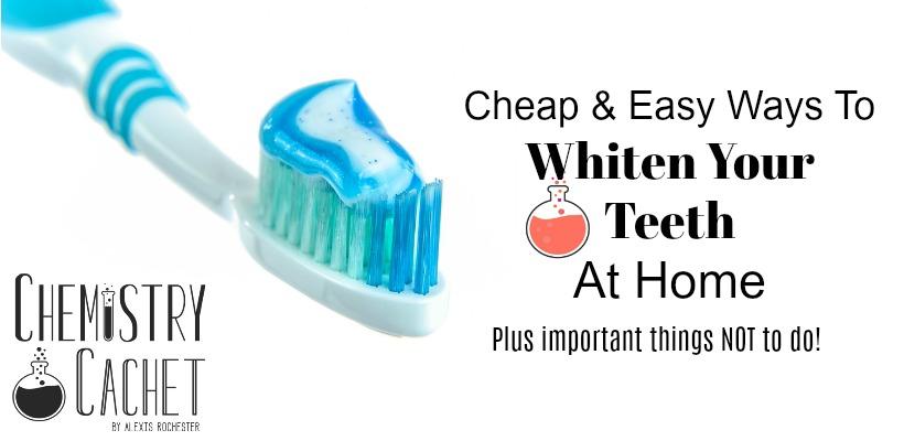 Des moyens bon marché et faciles pour blanchir vos dents à la maison, ainsi que des choses importantes à ne pas faire!
