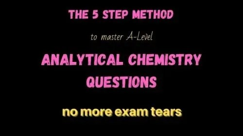 How to ace analytical chemistry questions, multiple spectra questions, questions with MS Mass spectrometry and NMR and IR, 5 step process, A level exam question, a level chemistry, Scottish advanced higher exam question,