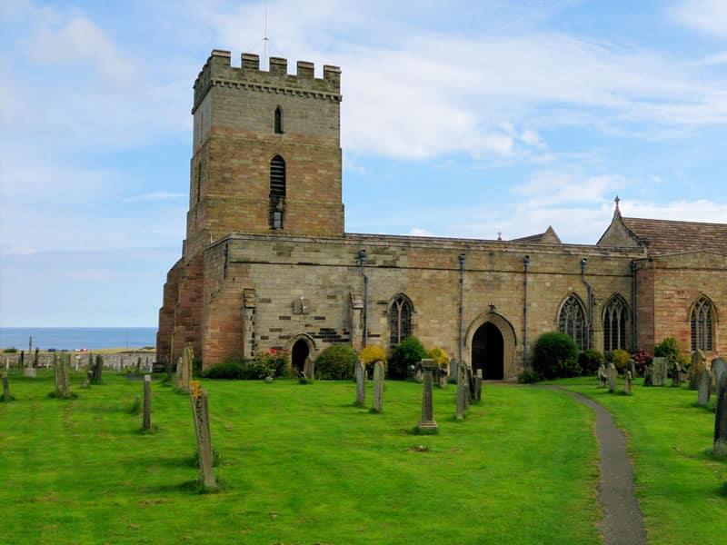 St Aidan's Church near Bamburgh on the north east coast