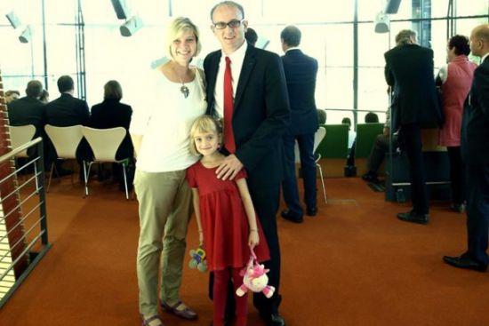 29092014 im Landtag mit Familie