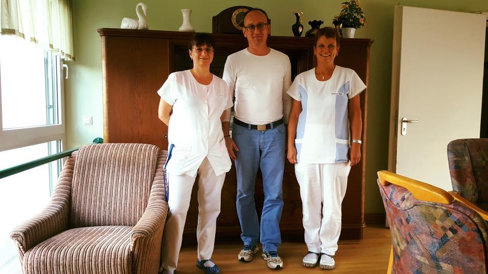 Danke an Diana Frohn und Kerstin Göthel für die ehrlichen Einblicke in ein anspruchsvolles und vielseitiges Berufsbild