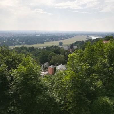 Ausblick über Dresden