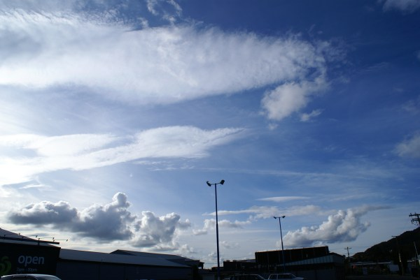 Whangarei Sky Covered With Aerosols & Unnatural Cloud ...