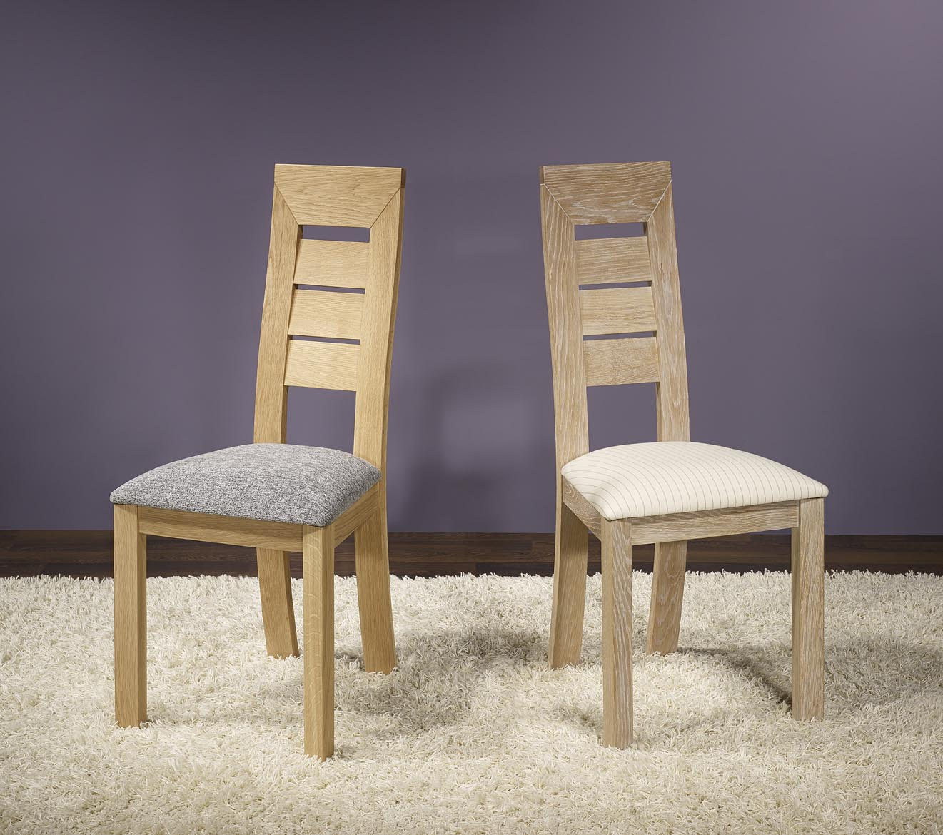 meuble en chene chaise mathis realise en chene massif ligne contemporaine