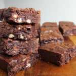 Triple-Chocolate Pecan Brownies