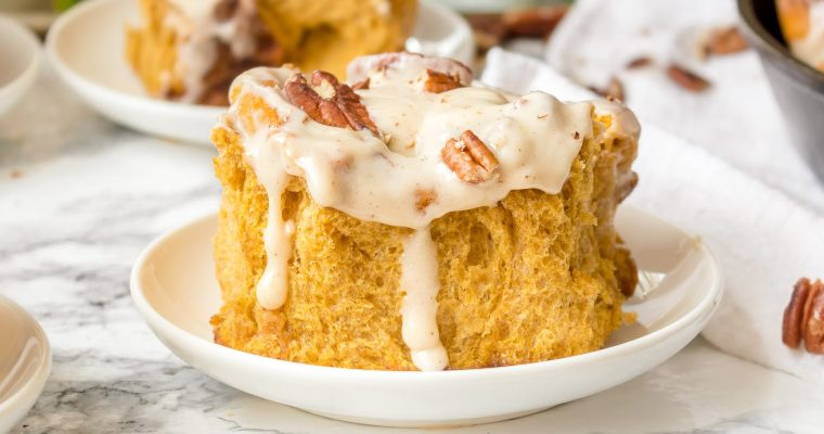 Pumpkin Pecan Cinnamon Roll Recipe