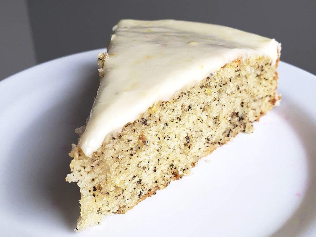 Lavender Earl Grey Cake Recipe with Honey Lemon Glaze   Chenée Today