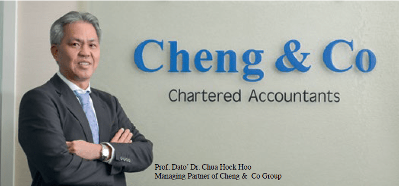Prof. Dato. Dr. Chua Hock Hoo, Managing Partner of Cheng & Co