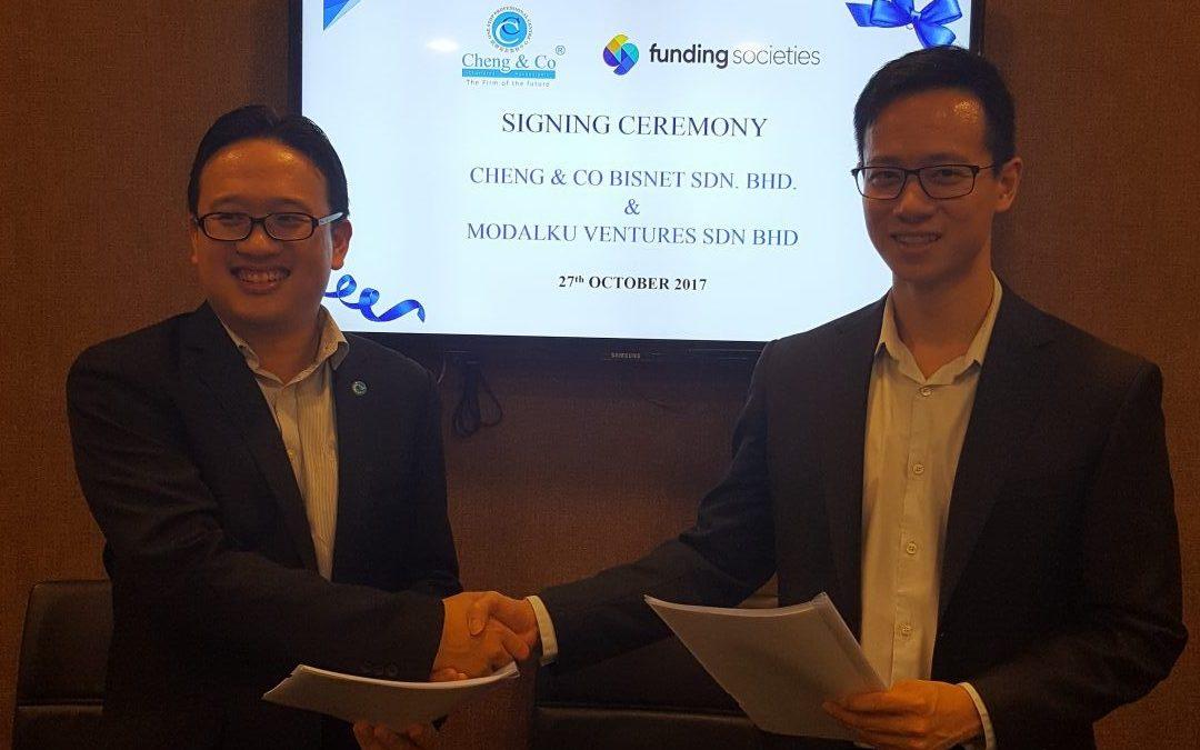 Cheng & Co – Funding Societies Partnership Opens Door To Greater Funding Options