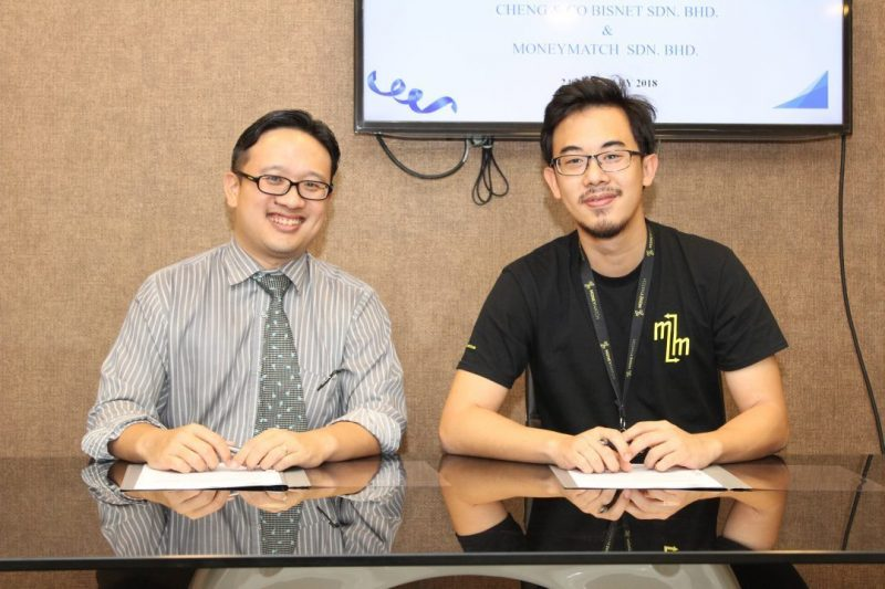 MoU between Cheng & Co and MoneyMatch