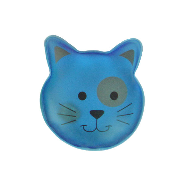 Animal Design Cat Instant Hot Pack, Magic Click Hot Pack, Reusable Hand Warmer