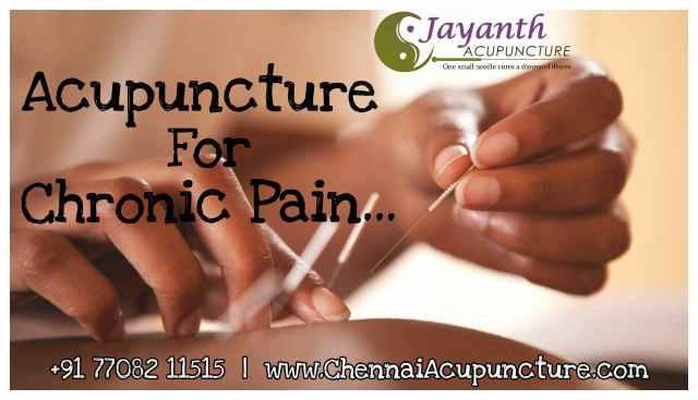 Acupuncture Treatment For Chronic Pain in Chennai | Chetpet | Annanagar | Tnagar