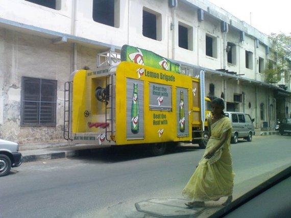 Marketing Van of 7Up