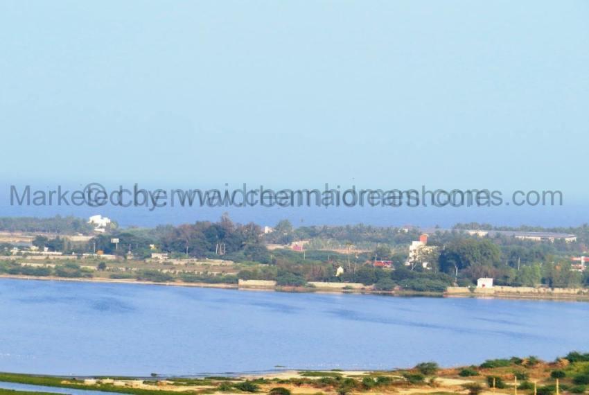 Muttukadu Backwaters view