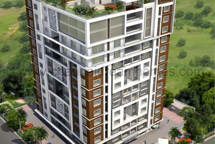 3 BHK Multistory, Luxurious Apartments with Sea View in ECR