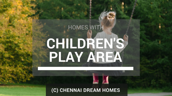 kids childrens play area houses apartments chennai