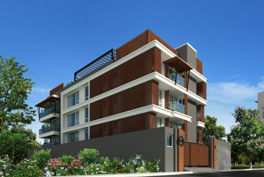 flats for sale in kotturpuram elevation