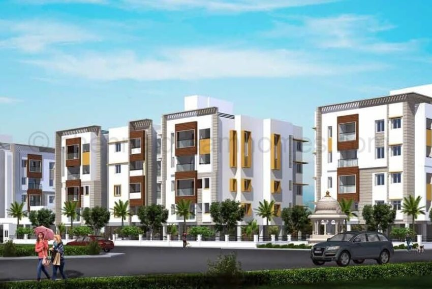 2bhk-flats-for-sale-kk-nagar-chennai-elevation