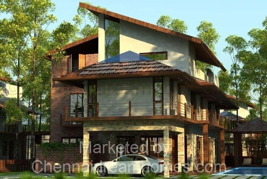 Super Luxury Villas sale Bangalore - Type A