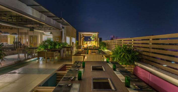 400 Degree F Barbeque - Rooftop Restaurants in Chennai