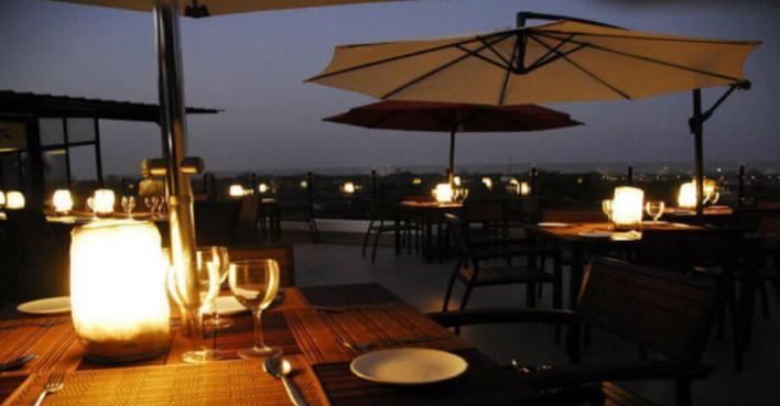 Azzuri Bay - Best Rooftop Restaurants in Chennai