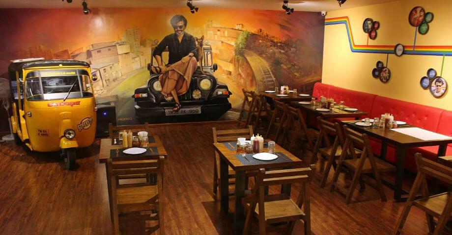 Superstar Pizza -Best Theme Restaurants in Chennai