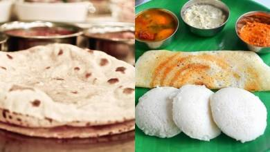 Photo of Chapati Vs Idli-dosa: Which One Is A Healthier Option?