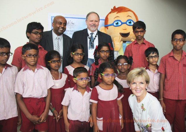 Australian Minister Ms Julie  Bishop at Events Chennai