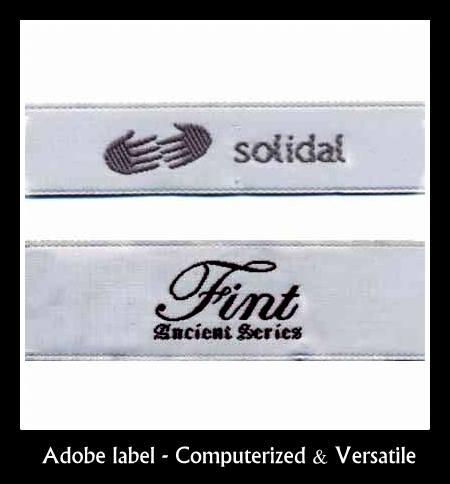Adobe quality label supplier in Chennai