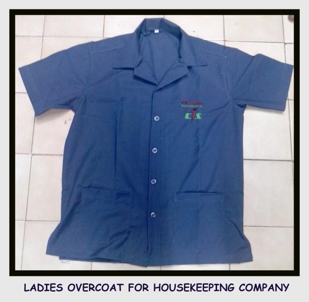 Ladies uniform overcoat