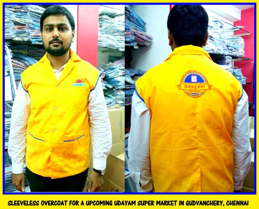 Sleeveless overcoats in Chennai