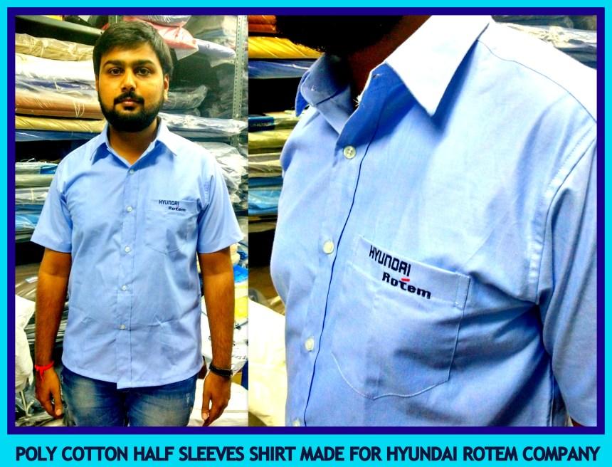 Uniform Half sleeves shirt suppliers in India