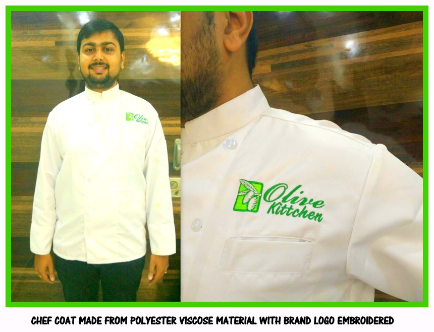 Chef coats customized according to your requirement