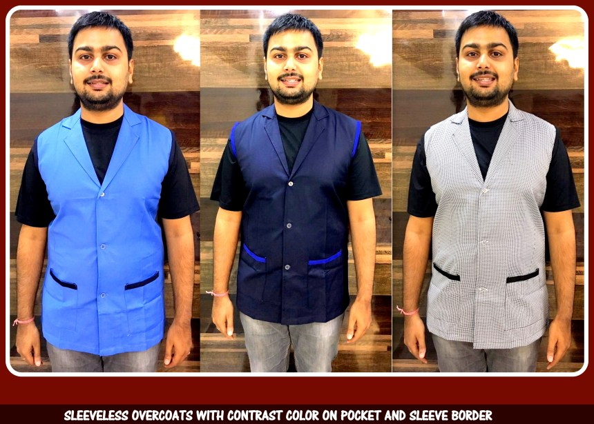 Sleeveless overcoats