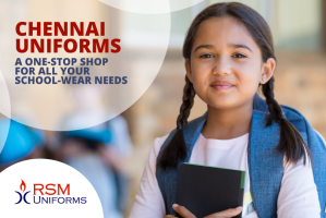 Chennai Uniforms - RSM Uniforms - A one stop shop for all your school wear needs