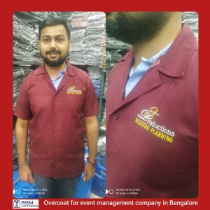 Uniforms for wedding planner company in Bangalore