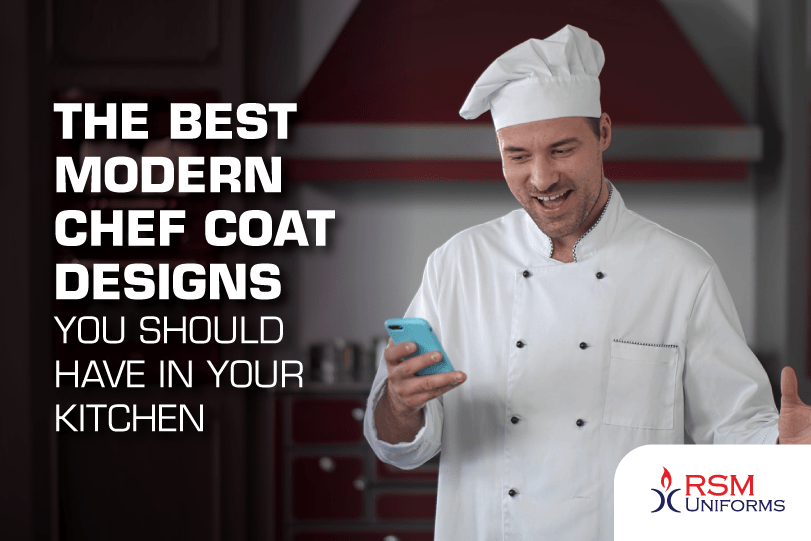 best modern chef coat designs you should have in your kitchen