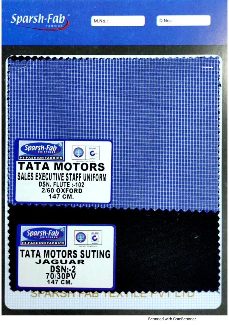 Tata motors sales executive staff