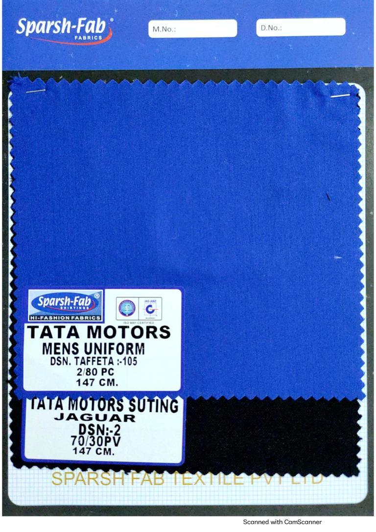 Tata uniforms Mens uniforms in India